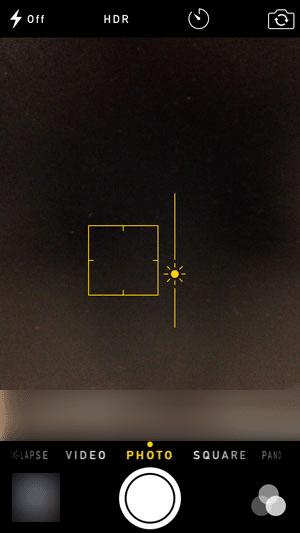 Adjust the brightness- Portrait lighting selfies with iPhone X