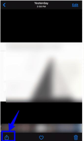 Airplay photos iPhone