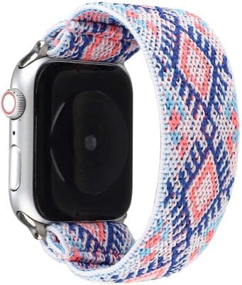 JimBird Stretchy Sport Loop Strap- Best Apple Watch Bands for kids