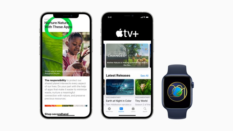 Apple Celebrates Earth Day 2021 With New Resource in Apple Services