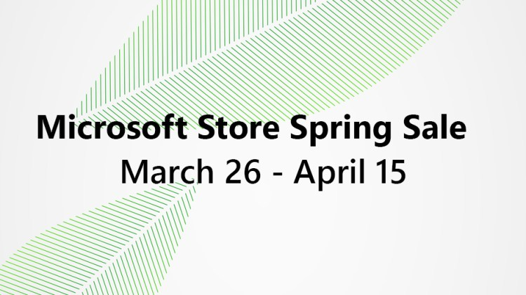 Microsoft Spring Sale: Great Deals on Microsoft Surface, Laptops, and Xbox Accessories