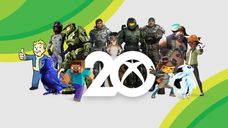Download 20th Anniversary of Xbox Wallpapers for Xbox One, PC, Tablet, and Mobile