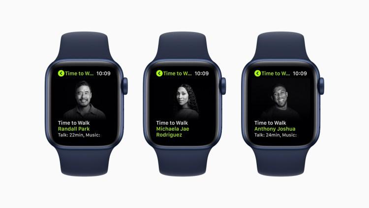 "Apple Fitness+ will introduce the Artist Spotlight series ""Time to Walk"" next week"