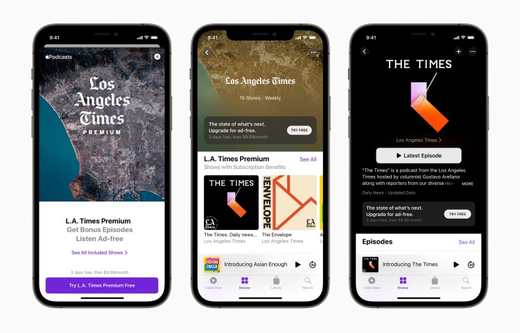 Apple Podcasts Subscriptions and Channels Now Available to Everyone