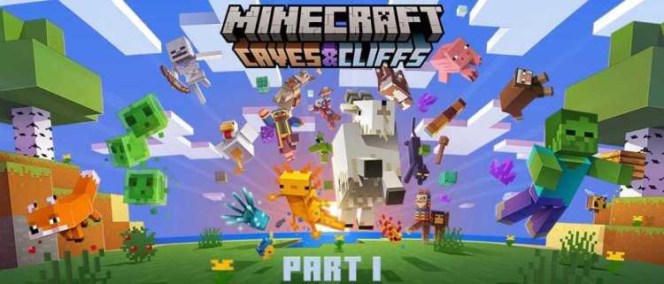 Minecraft Caves & Cliffs: Part I update will release on June 8
