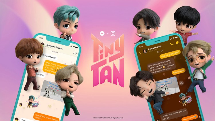 TinyTAN chat theme
