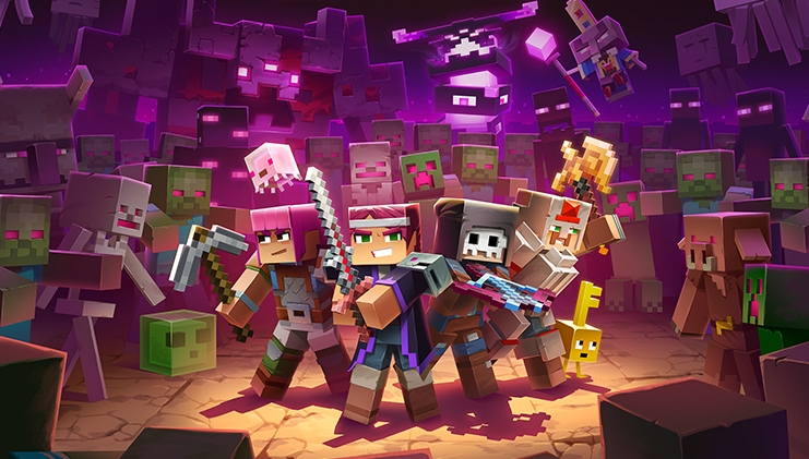 Echoing Void DLC is coming to Minecraft Dungeons on July 28