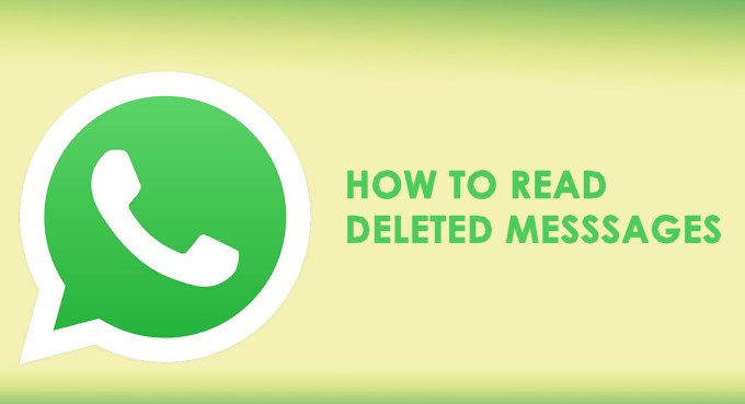 Read Deleted/Unsent Whatsapp Messages