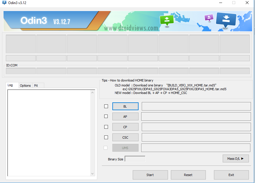 Download Latest Version of Odin for PC | Odin3_v3.12.7