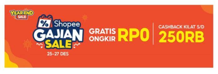 Promo Gajian Shopee