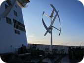Ferry wind power turbine 5