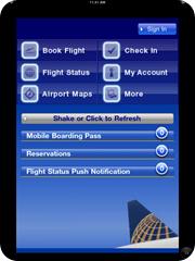 UNITED iPad2 App 1
