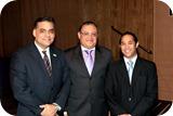 Miguel Campillo, Miguel Angel Cid y Juan Luis Lozada