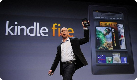 Amazon Kindle Fire - Bezo