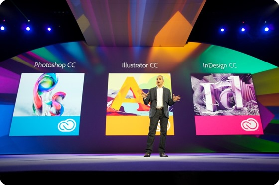 David Wadhwani, senior vice president and general manager, Digital Media, Adobe, unveils a milestone update to Adobe Creative Cloud during Adobe MAX, Monday, May 6, 2013 in Los Angeles.  Adobe MAX, The Creativity Conference, is an annual four-day event that convenes more than 5,000 industry leaders to exchange ideas, get inspired and explore how creativity is changing the world. (Photo Courtesy of Adobe/David Zentz Photography/Novus Select)