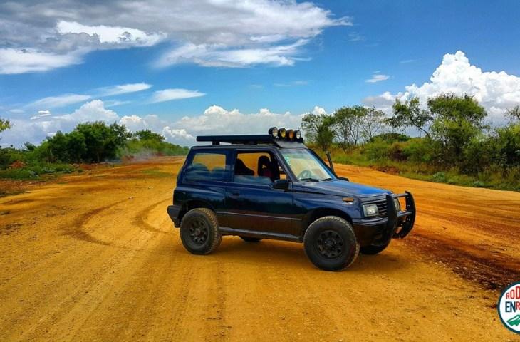 Rodando en RD - Jeep suzuki vitara
