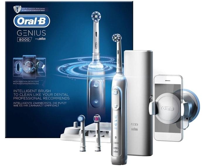 Oral B Genius 8000 Bluetooth Smart Toothbrush Best Gifts