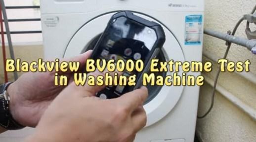 Blackview BV6000 di-tes Ekstrim di Mesin Cuci: Bertahan...!! s