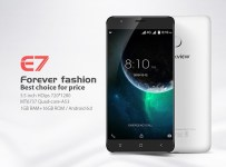 Blackview E7: Phablet Murah dengan Fingerprint dan MT6737 ds
