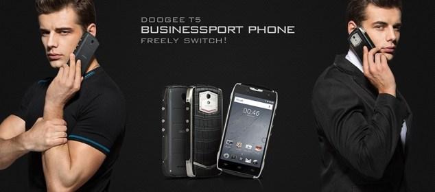 Doogee T5 Smartphone Bisnis dengan IP67: Harga & Spesifikasi ew