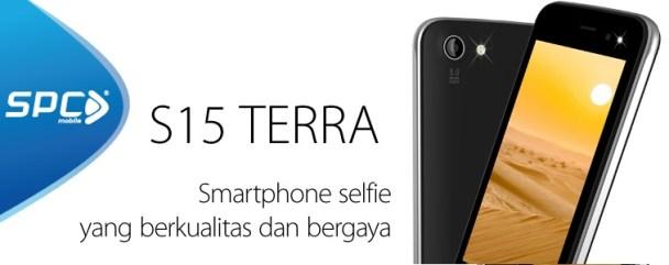 SPC S15 Terra: Smartphone Selfie dengan Harga Murah d