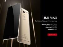 Umi Max dengan Layar 5.5 inci, Helio P10 Dirilis: Harga & Spesifikasi ds
