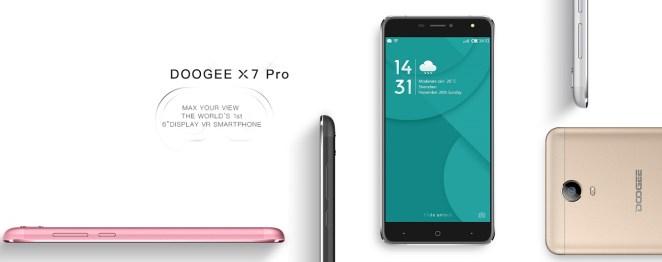 Doogee X7 dan X7 Pro: Phablet 6 Inci Pertama yang Mendukung VR 1