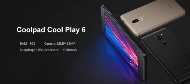 Coolpad Cool Play 6: Phablet Gaming Murah dengan RAM 6GB 5