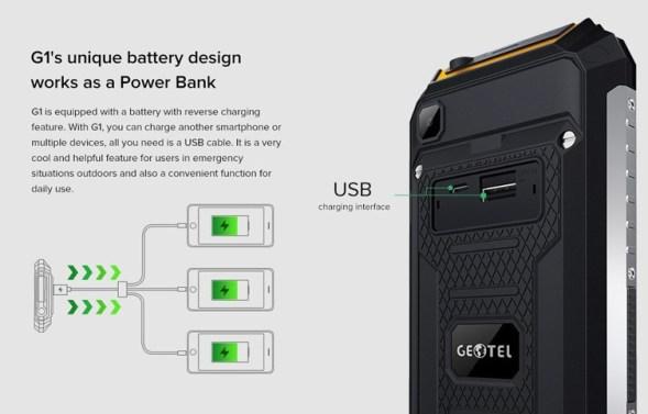 Geotel G1: Gadget Tangguh RAM 2GB, 7500 mAh Harga Murah 1