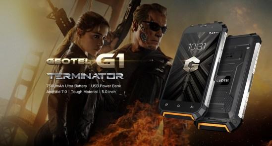 Geotel G1: Gadget Tangguh RAM 2GB, 7500 mAh Harga Murah 5