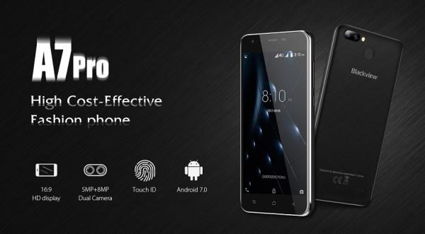 Blackview A7 Pro 4G dengan Kamera Ganda dan RAM 2GB Dirilis 5