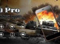 Nomu S10 Pro hadir dengan Rating IP69 dan RAM 3GB 1