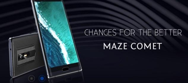 Maze Comet: Phablet Stylish dengan Layar 5.7 inci 18:9 dan RAM 4GB 1