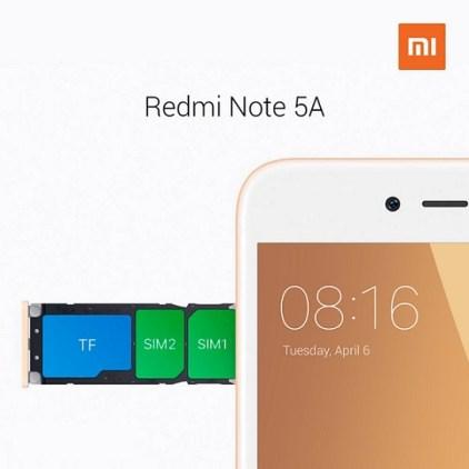 Xiaomi Redmi Note 5A rilis di Indonesia: Harga dan Spesifikasi Lengkap n