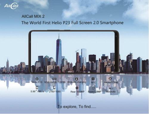 Flagship Allcall Mix 2 disiapkan dengan Android 8 dan Helio P23 1
