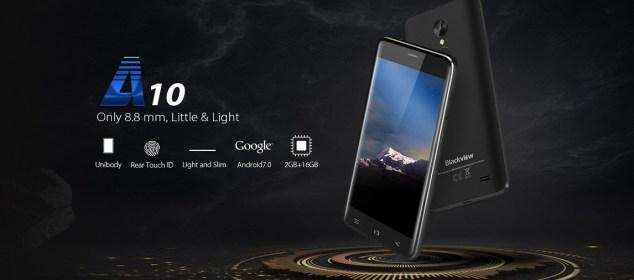 Blackview A10: Smartphone Minimalis RAM 2GB Harga 900 Ribu 5