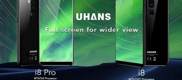 Naik Level, Uhans i8 Pro disiapkan sebagai Flagship dengan RAM 6GB d