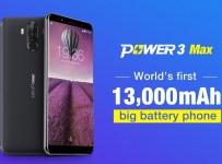 Pemilik Baterai 13000 mAh: Ulefone Power 3 Max Siap Hadir di MWC 2018 1