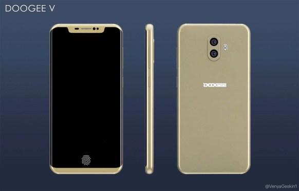 Cakepnya Doogee V dengan Fingerprint Layar: Gabungan iPhone X & Samsung S8 6