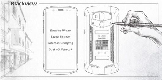 Smartphone IP68 Wireless Charging Blackview BV5800 Pro Diperkenalkan d