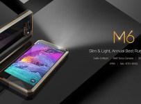 Nomu M6: Smartphone Rugged IP68 Tipis dengan Cover Glossy 1