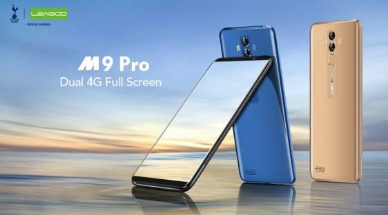 Leagoo M9 Pro 4G dirilis: Layar 5.72 inci, MT6739 dan Face ID 3