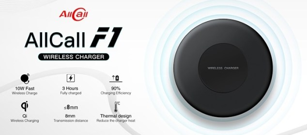 AllCall F1: Wireless Fast Charging Qi untuk AllCall Mix 2 1