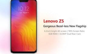 Lenovo Z5: Phablet RAM 6GB, SD636 dan Warna Gradien Aurora 7