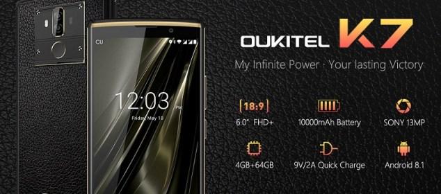 Oukitel K7: Phablet Baterai 10000 mAh, Desain Keren, Harga 2.5 Juta Rupiah 3