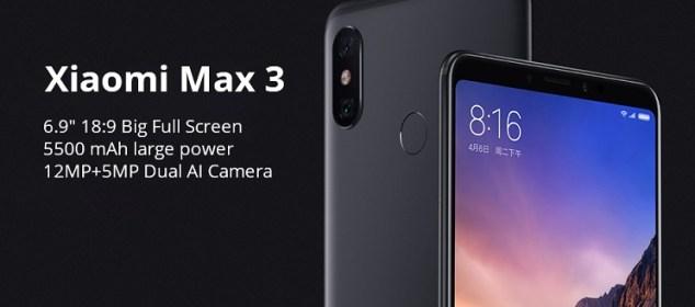 Xiaomi Mi Max 3 dirilis: Layar 6.9 inci, RAM 6GB, Baterai 5500 mAh 8