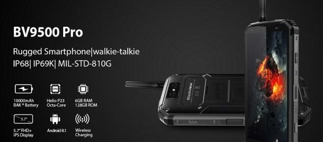 Blackview BV9500 Pro dirilis: dengan Fitur Walkie Talkie dan RAM 6GB 5