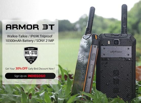 Baru Lagi!!: Ulefone Armor 3T dengan Fitur Walkie Talkie 3