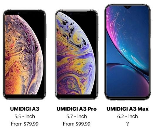 Perkenalan Umidigi A3 Series: Penantang iPhone XS dan XR 1