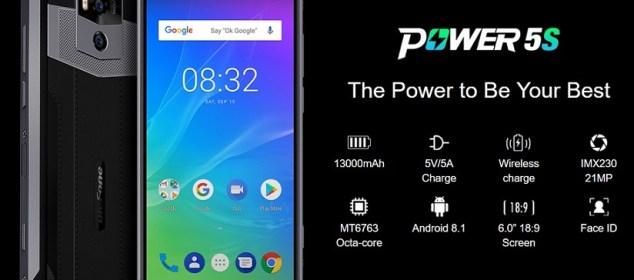 Ulefone Power 5S dirilis dengan RAM 4GB: Harga Lebih Murah 1